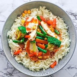 Healthy ready made meals - Chicken Stir Fry